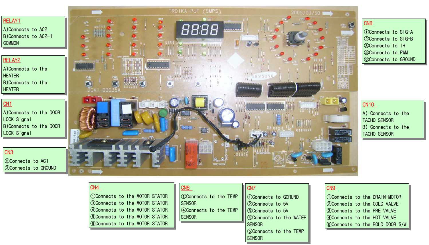 Samsung aa41 10443a схема
